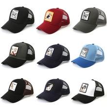 2019 Fashion Men Women mesh Snapback Animal Embroidery Baseball Cap Outdoor Sports Hats Adjustable Hat trucker gorra hombre