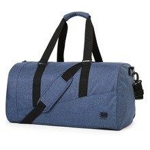 BAGSMART Large Capacity Travel Bag Nylon Carry on Luggage