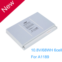 10 8V 68WH 6cell Compatible A1189 MA458 Laptop Battery For APPLE MacBook Pro 17 A1151 A1229