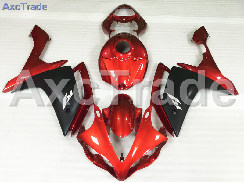 Motorcycle Fairings Kits For Yamaha YZF1000 YZF 1000 R1 YZF-R1 2007 2008 07 08 ABS Injection Fairing Bodywork Kit Red Black A433 for yamaha yzf 1000 r1 2007 2008 yzf1000r inject abs plastic motorcycle fairing kit yzfr1 07 08 yzf1000r1 yzf 1000r cb02