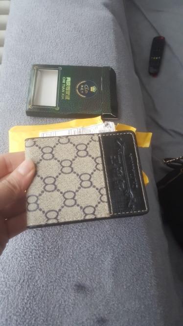 Nieuwe mannen vrouwen lederen creditcardhouder / zaak kaarthouder portemonnee visitekaartje pakket PU lederen tas photo review