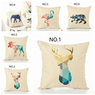 Fashion Hot Animal printed cotton pillow cover Decorative Car Chair Home Decor Pillow case
