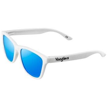 Gafas De Sol Polarizadas para Hombre UV400, Marca Vooglers Ibiza, Montura Blanca,...