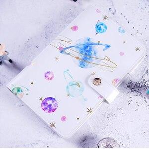 Image 1 - Yiwi A6 כוכב כוכבים הדפסת מתכנן כיסוי חמוד Creative יומן מחברת עם מתנות