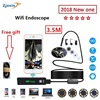 2018 WIFI Endoscope 3 5M New Camera 8mm HD Lens USB Iphone Android Endoscope Tablet Wireless