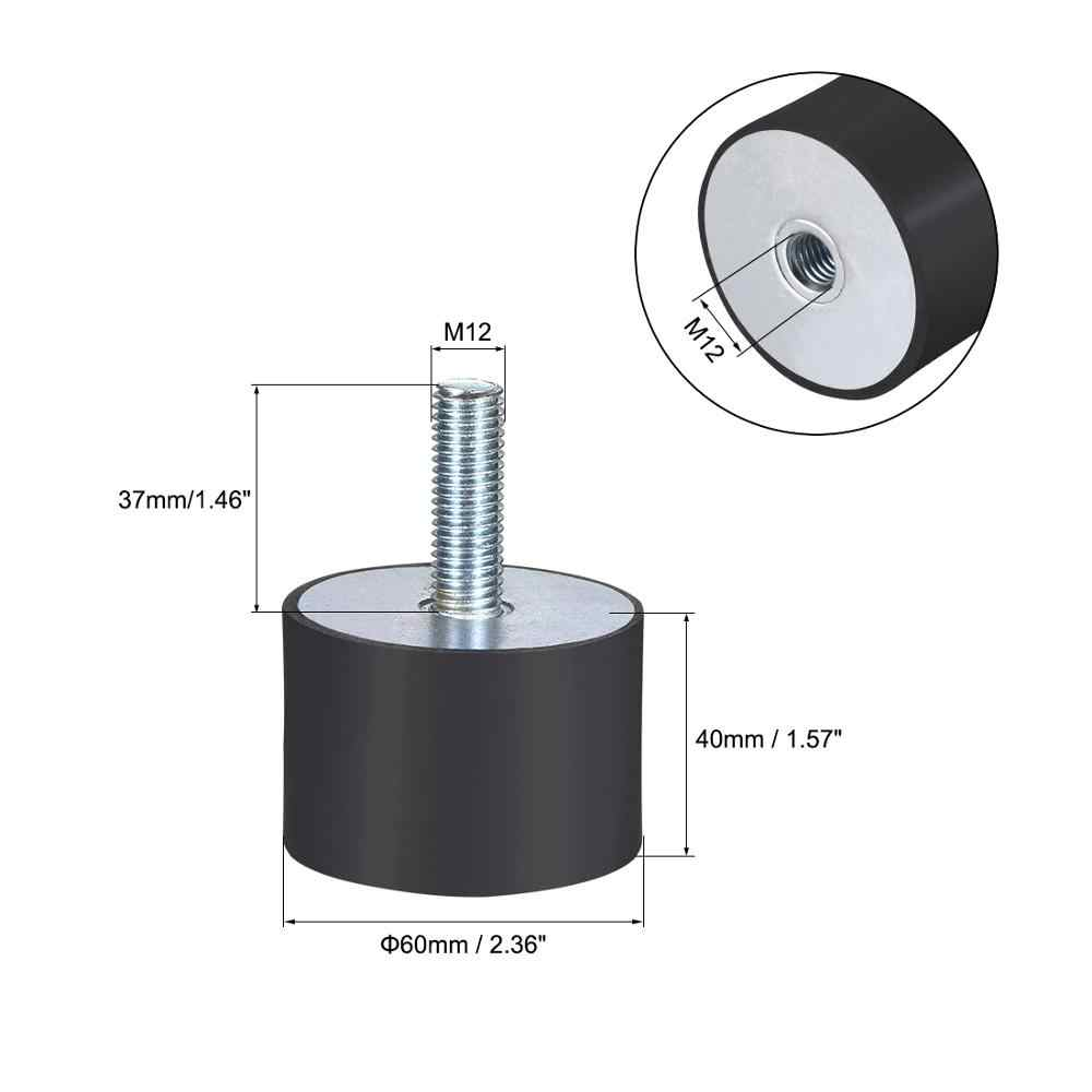 Rubber Shock Absorber Vibration Isolator Mount with M8 M10 M12 Studs