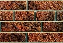 """חדש פוליאוריטן תבניות דגם 2018 שנה עבור בטון טיח קיר אבן מלט אריחי """"לונדון לבנים #1 2 """"דקורטיבי קיר תבניות"""