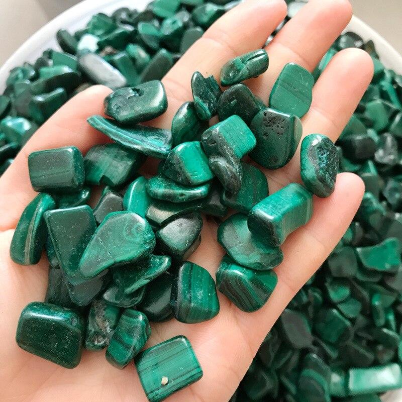 1Kg pierre de Malachite naturelle Chrysocolla gravier roche cristal Quartz brut pierre gemme minéral spécimen réservoir de poisson décoration de jardin - 3