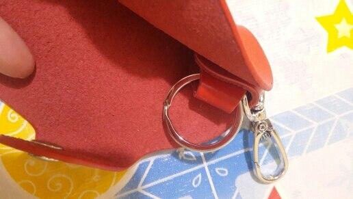 Unisex Portable Key Wallets Door Car Faux Leather Key Holder Bag Purse Case For Women Man photo review
