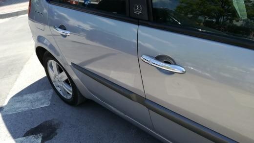 Maçanetas externas Renault Megane Chrome