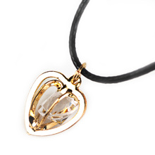 1Pcs Cute Gold Color Heart Shaped Pendant Necklace for Women Wedding Gifts Little Love necklace New Arrival Fashion Gifts