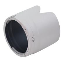 NEW black/White ET-87 Camera lens hood for Canon EF 70-200 m