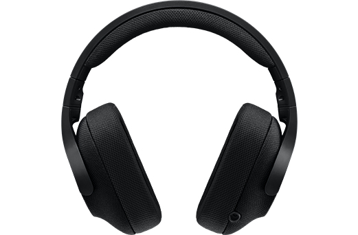 Logitech G433, игровая консоль + ПК/игровой, бинауральный, головной, черный, проводной, 2 м