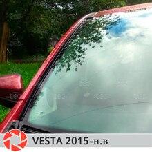 Для Lada Vesta 2015-дефлекторы для ветрового стекла 1 комплект-2 шт. защита аэродинамическая функция дождя слив автомобиля Стайлинг накладка
