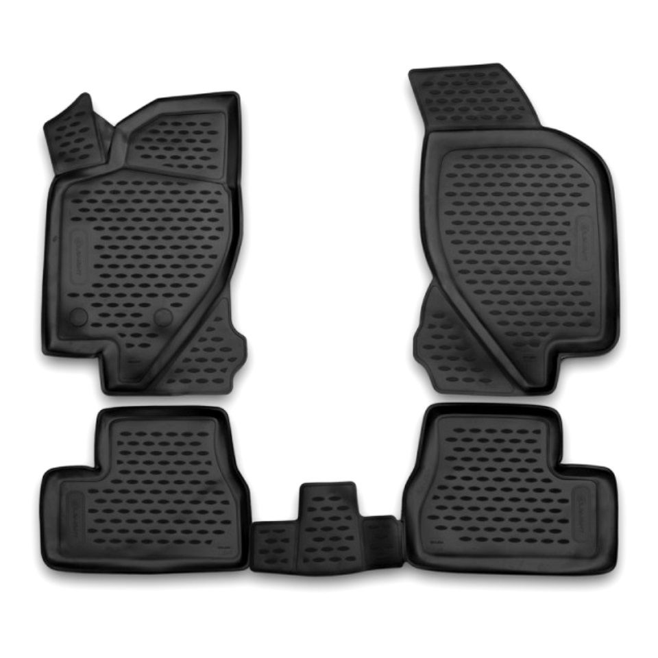 For Datsun OnDo 2014-2019 3D floor mats into saloon 4 pcs/set Element NLC3D9404210K for haval h6 fwd 2014 2019 3d floor mats into saloon 4 pcs set element element3d9922210k