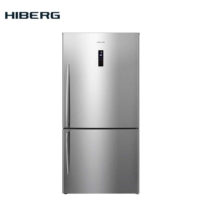 Refrigerator HIBERG RFC-60DX NFX цена и фото