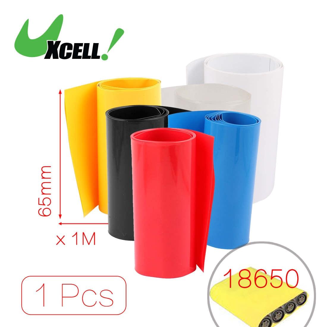 5pcs 2M 29,5 mm de PVC gris termocontra/íble Tubo de 1 x 18650