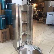 Полный набор коммерческий 3 горелки пропан газовый спиннинг вертикальный жарочный шкаф шаурма гироскоп Донер для кебаба такос Аль пастор машина барбекю