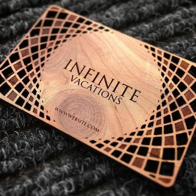 RDJ 1390 Laser Cut Engrave Wood Business Card Cutting Machine Price