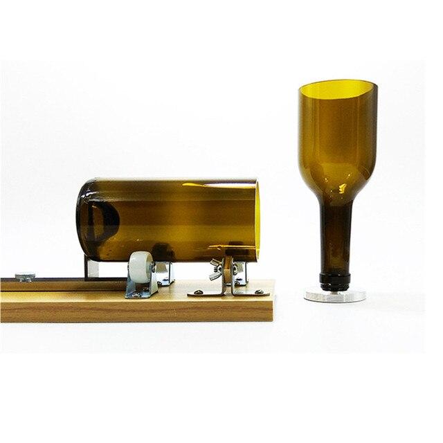Glasflasche Cutter Wein Bier Maschine Bier Weinflasche Glas Cutter Maschine  Glas Skulptur Kunst Schneiden DIY Recycle