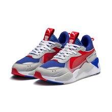 PUMA x Hasbro RS-X Transformer Men Women Badminton Shoes Optimus Prime  370702-01 RS System Cushioning Sneaker Dad Shoes EU36-45 e6d437637