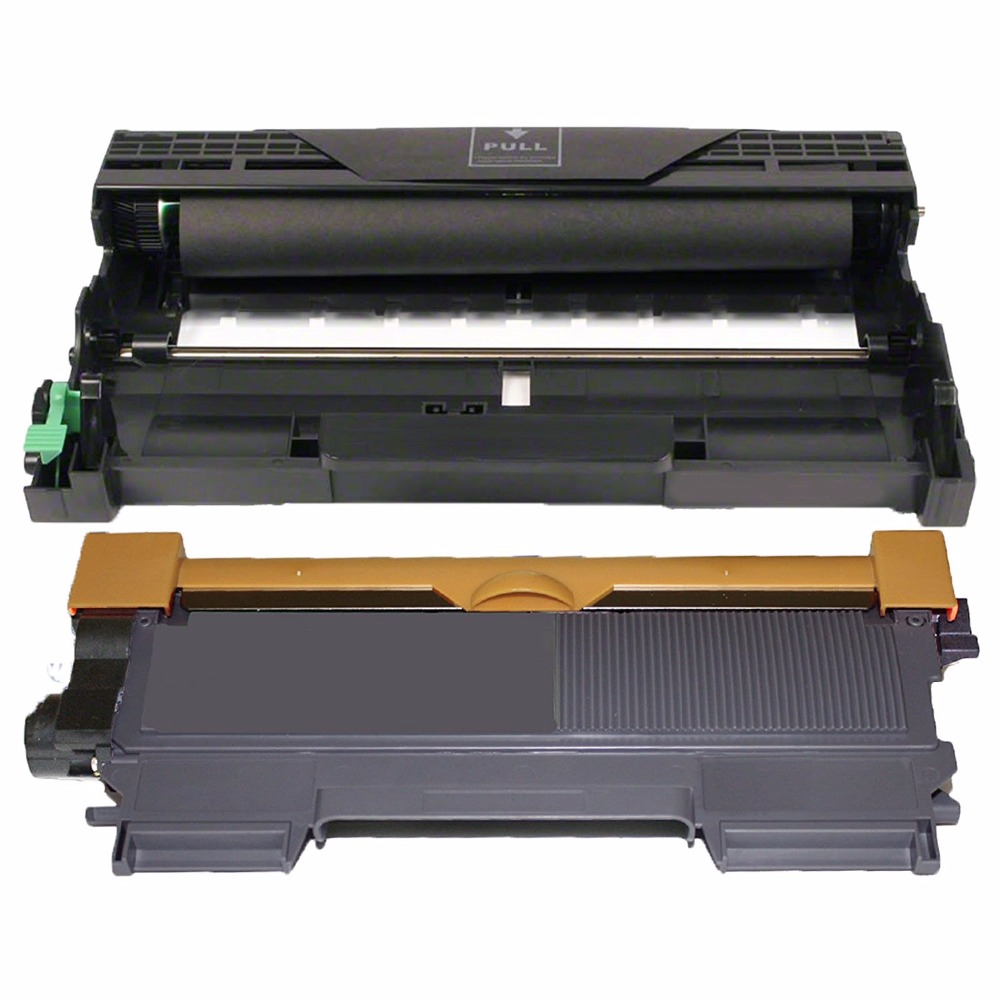 (1 Drum + 1 Toner) TN450 TN420 High Yield 2600 pages Toner Cartridge DR420 Drum Unit 12000pages for Brother DCP-7065DN Printers refillable color ink jet cartridge for brother printers dcp j125 mfc j265w 100ml