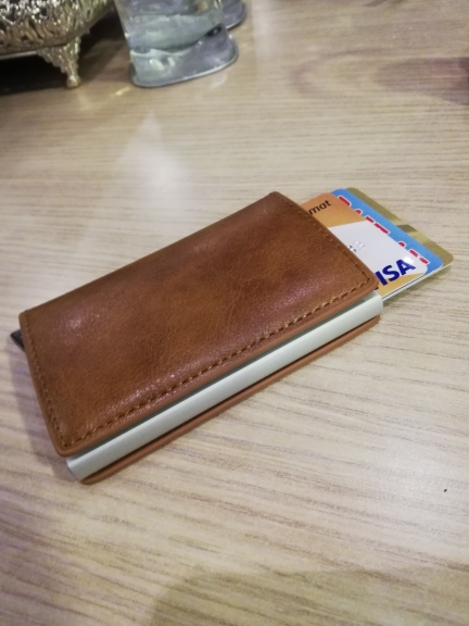Wallet Men Money Bag Slim Mini Purse Male Aluminium Rfid Card Holder Wallet Thin Small Smart Wallet Walet Portfel Men's Bags