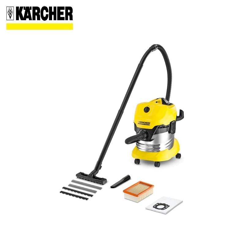 лучшая цена Vacuum cleaner KARCHER WD 4 PREMIUM Home vacuum Bagless vacuum cleaner Hand vacuum cleaner Hoover