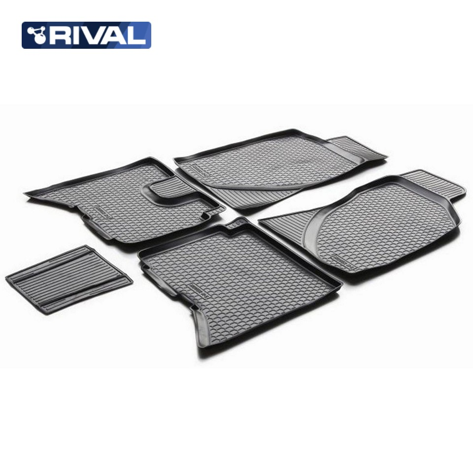 For Great Wall Hover H5 2013-2019 floor mats into saloon 5 pcs/set Rival 12002001 wall bricks wood floor print tapestry