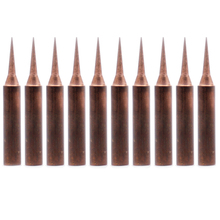 10Pcs/lot pure copper Iron tip 900M-T-I soldering tip for soldering rework station soldering iron station