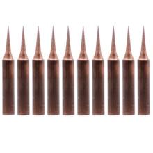 Pointes de fer en cuivre pur 900M T I, 10 pièces/lot, pointe à souder pour station de réparation de soudage