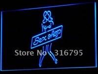 I570 секс-шоп сексуальная девушка игрушки бар новый LED Neon Light sign on/off Swtich 7 цветов 4 размера