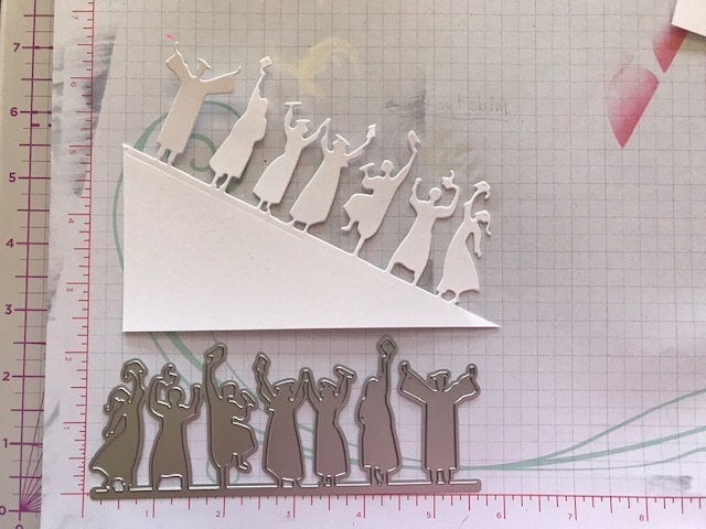 InLoveArts Graduation Border Metal Cutting Dies for Scrapbooking Card Album Embossing Crafts Diecut Stencil New Template