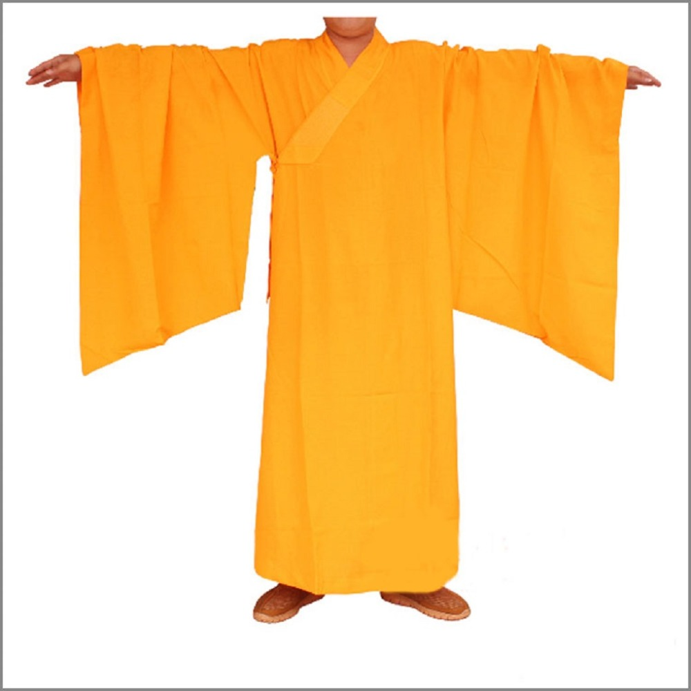 Shanghai Story buddhist Wooden hooks suits clothes lay clothing Monk robes Brown lay Bodhisattva brand Training
