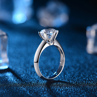 Love Diamond 18K Gold Ring For Women Wedding Band And Engagement Ring Fine Jewelry Fashion Jewellery