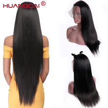 360 Lace Frontal Wig Pre Plucked With Baby Hair 150% Brazilian Straight Full End Lace Front Human Hair Wigs For Woman Remy Wig