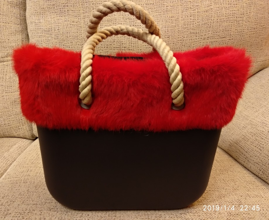 tanqu Pluche Trim voor O BAG Thermal Pluche Decoratie Konijnenbont Fit voor Classic Big Mini Obag photo review