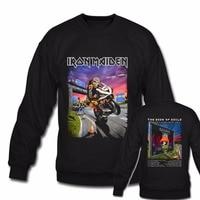 Heavy Metal Rock Band Iron Maiden Schwarz Hoodie Sweatshirts