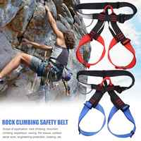 Outdoor Camping Climbing Safety Harness Seat Belts Sitting Rock Climbing Rappelling Tool Rock Climbing Accessory 2019 New