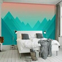 Abstract geometric mountain peak minimalist background professional making murals, wallpaper wholesale, custom poster photo wall
