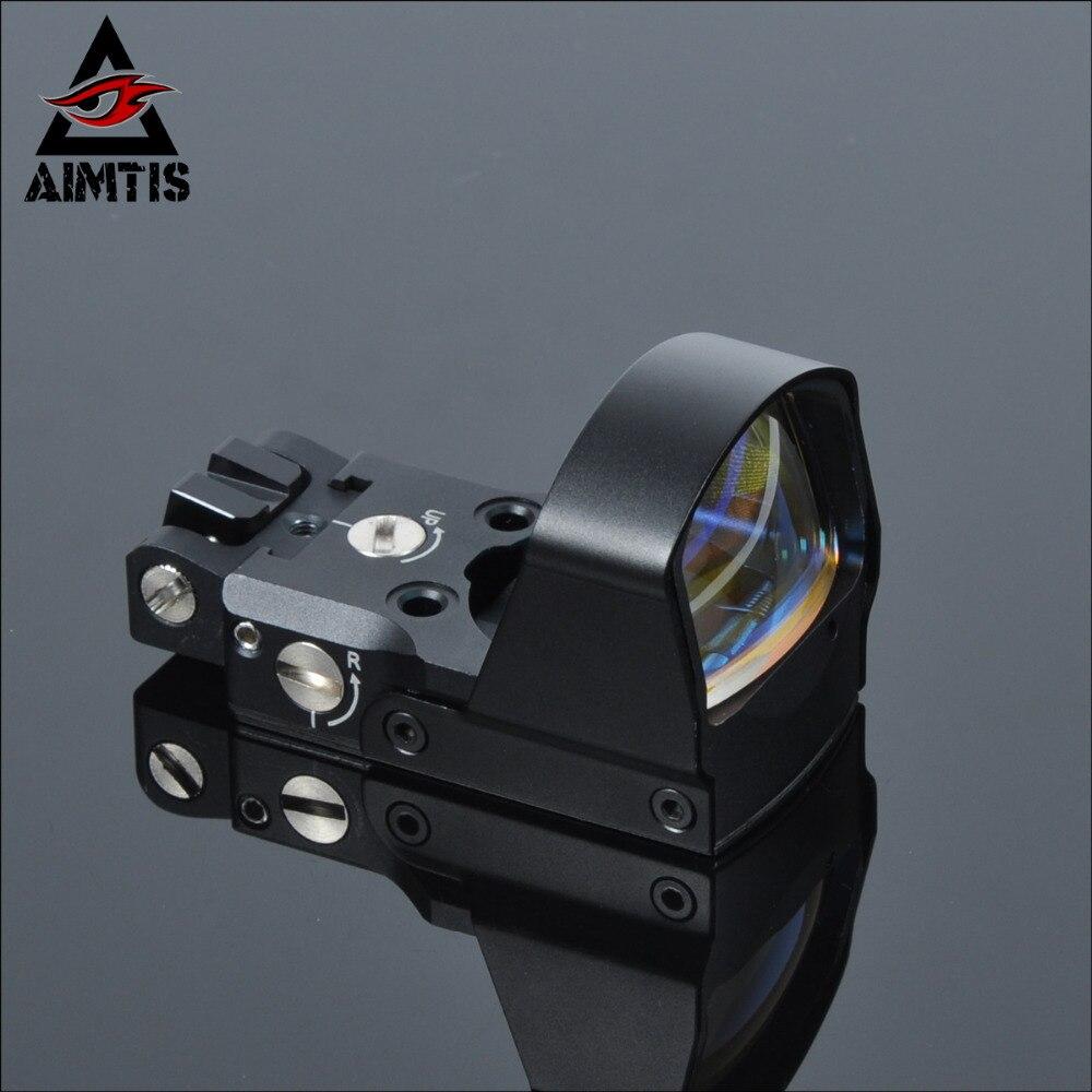 AIMTIS meilleur LP DP Pro Airsoft 1911 1913 monture réflexe de visée point rouge visée portée tactique pour accessoires de portée de chasse