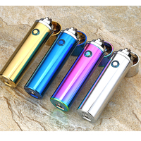 2018 New Electric Double Pulse Arc Lighter Tobacco Pipe USB Lighter Smokeless Windproof Cigarette Cigar Lighters