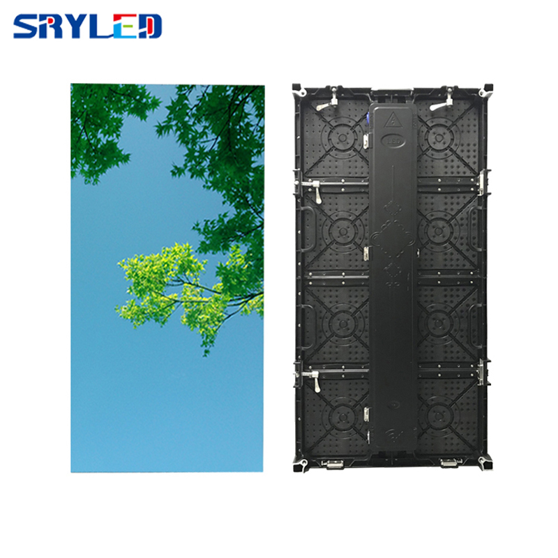 China Clear P3.91 Led Video Display Screen Outdoor Events Full Color RGB Stage Rental