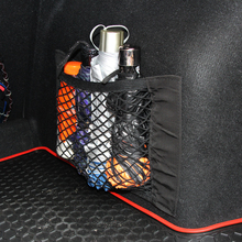 Car Trunk Nylon Rope Net / luggage net with backing For Volkswagen VW GOLF 5 6 7 GTI TIGUAN PASSAT B5 B6 B8 JETTA MK5 MK6 POLO