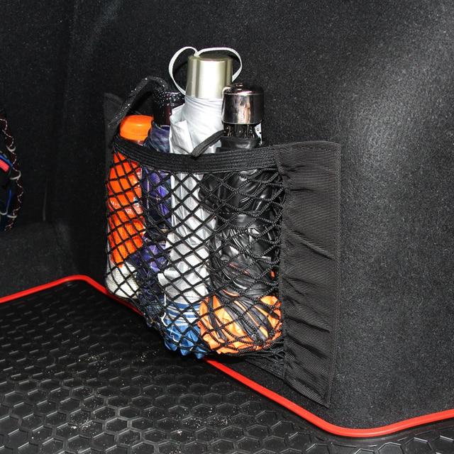 Car Trunk Nylon Rope Net / luggage net with backing For Volkswagen VW GOLF 5 6 7 GTI TIGUAN PASSAT B5 B6 B8 JETTA MK5 MK6 POLO