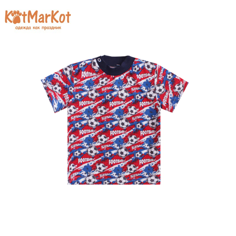 T-shirt Kotmarkot 7759 children clothing cotton for baby boys kid clothes children s garment 2017 pattern summer children s garment children cowboy suit baby cowboy salopettes stripe pure cotton