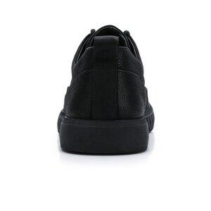 Image 3 - CAMEL Mens Shoes Genuine Leather Casual Shoes Korean Trend Mens British Matte Texture Man Fashion Shoes