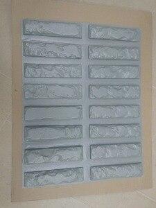 Image 5 - 16 шт. пластиковые формы для бетон гипс, суперлучшая цена, настенный камень, Цементная плитка, «старый кирпич», декоративные настенные формы, новый дизайн