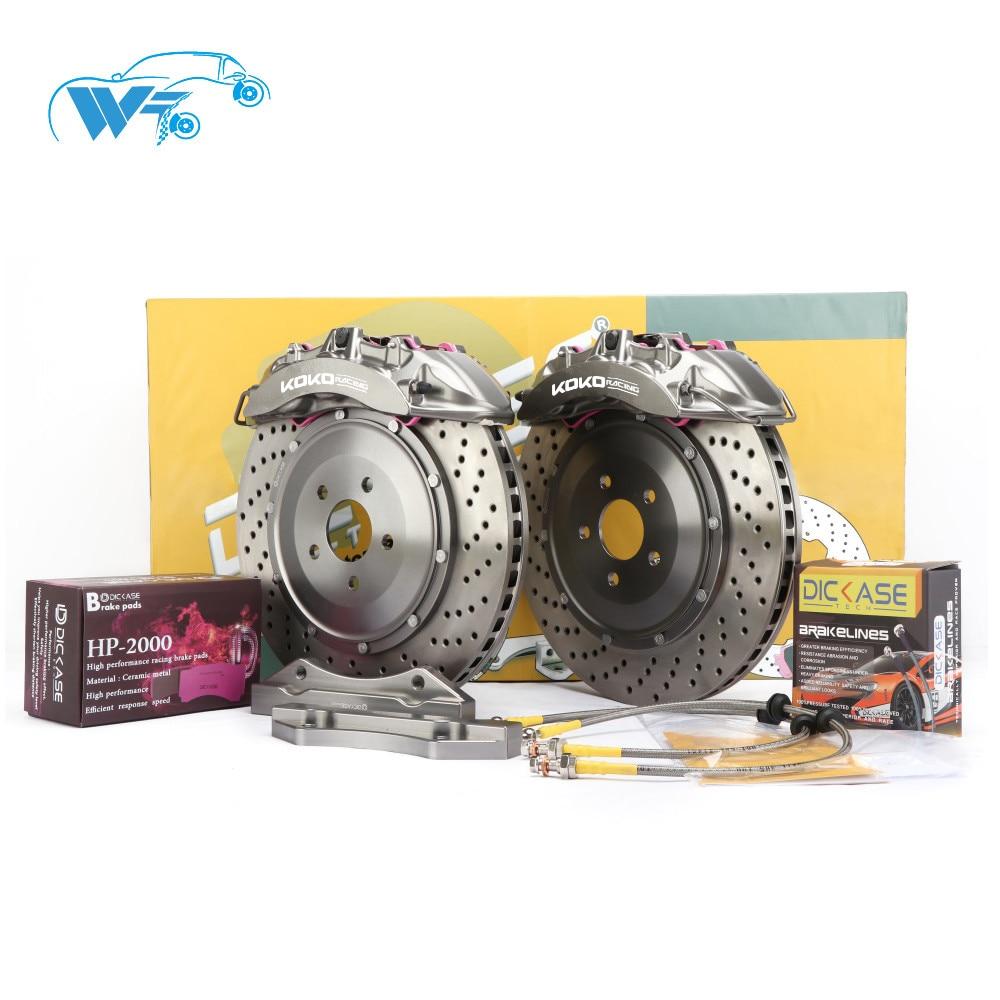 KOKO RACING designer cars brake system V6 big brake caliper racing using disc high temperature brake pads for Toyota Supra