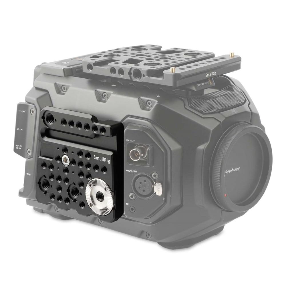 SmallRig Rosette Side Plate for Blackmagic URSA Mini Camera with Cold Shoe Built in 28mm ARRI